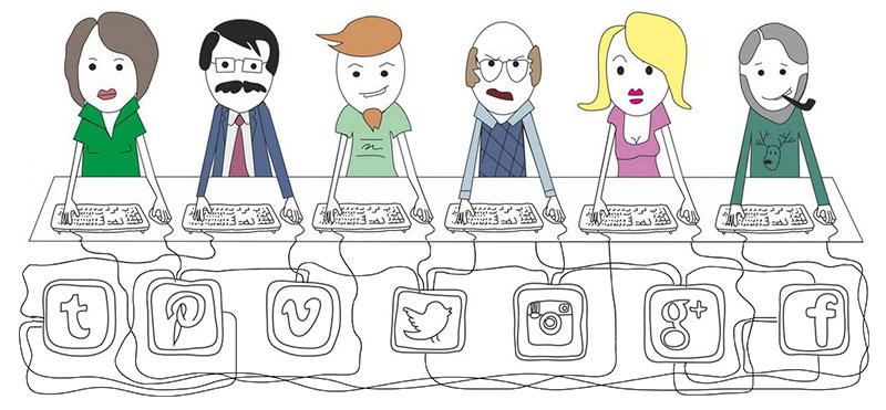 Психология вирусности. Взаимодействие с другими пользователями | mfive