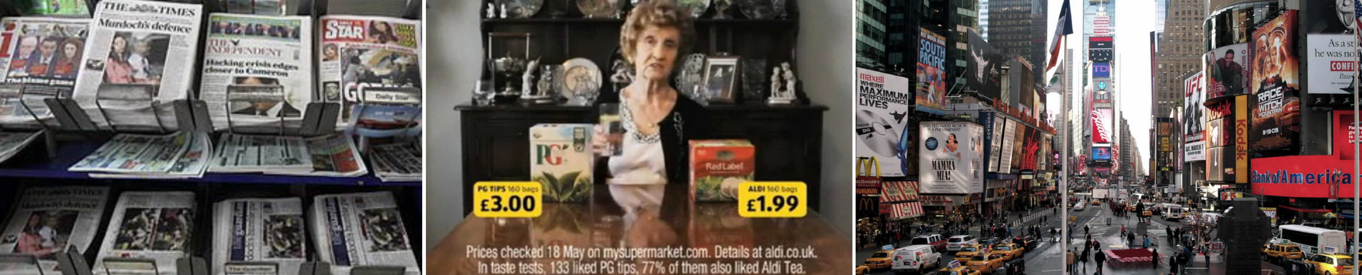 Традиционные виды рекламы | mfive