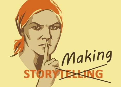 Сторителлинг или сторимейкинг: новые тенденции цифровой действительности