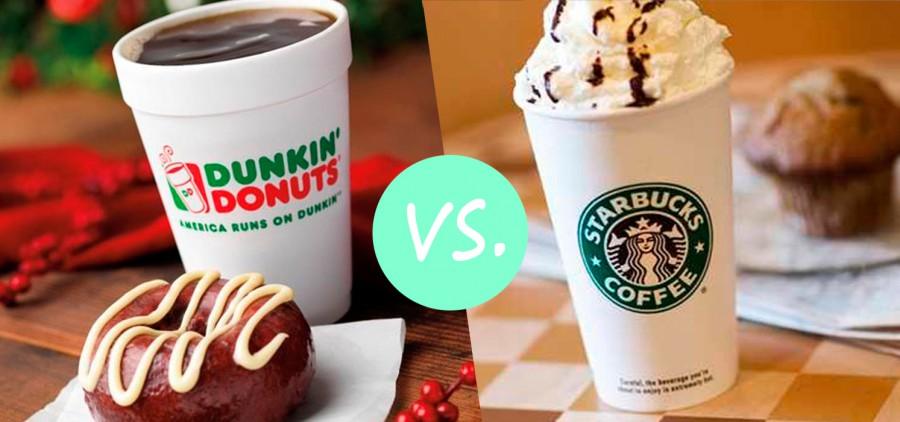Кофейный онлайн-видеомаркетинг: Starbucks против Dunkin' Donuts