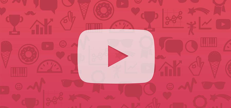 Среднее число просмотров на YouTube по категориям