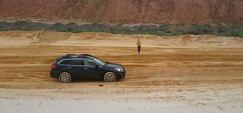 360 градусов по Subaru Outback