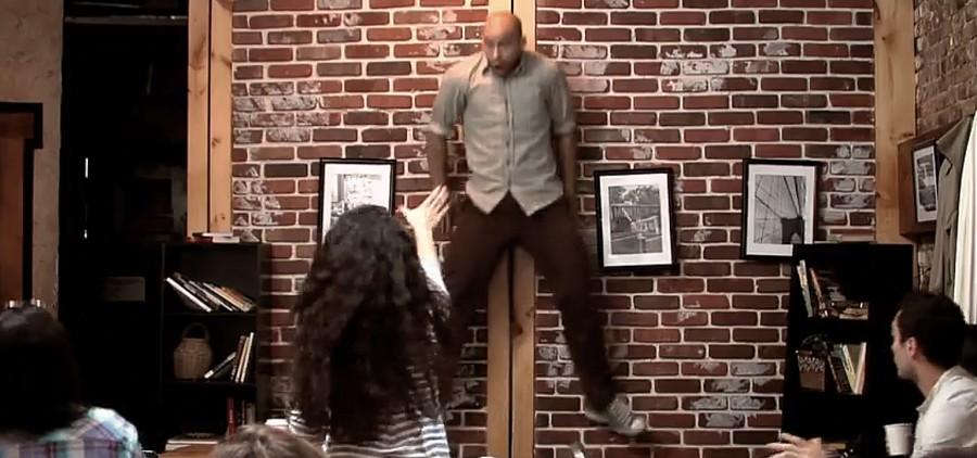 Вирусная реклама фильма. Что бы вы сказали, если бы телекинез был реальностью?