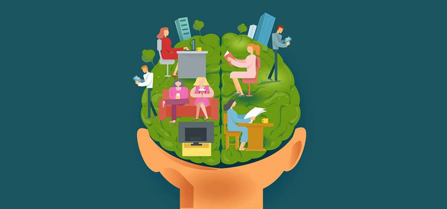 Инфографика: Как наш мозг обрабатывает различные типы контента
