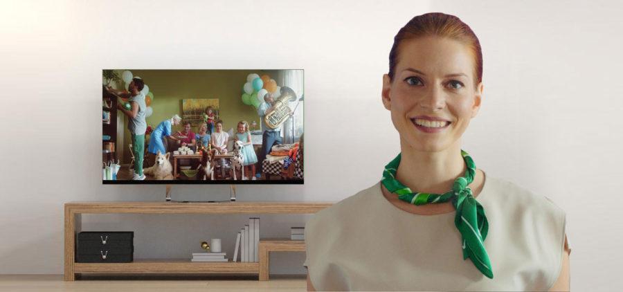 Персонализированное видео для клиентов Сбербанка